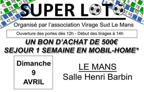 Super Loto le 09 Avril